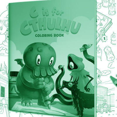 ComixLaunch Bonus 001 – [Case Study] C is for Cthulhu Coloring Book Pre-Launch: 7 Sexy New Kickstarter Strategies