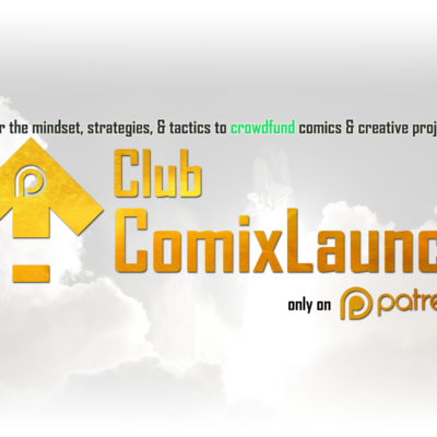A Special Invitation to Join Club ComixLaunch