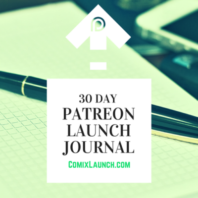 072 – Patreon Launch #7: The 30 Day Patreon Launch Journal Challenge with Searnold of Completely Different Comics