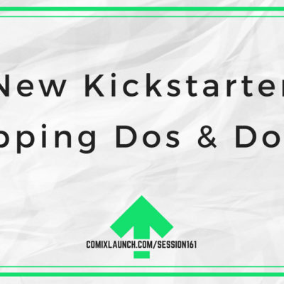 New Kickstarter Shipping Dos & Don'ts