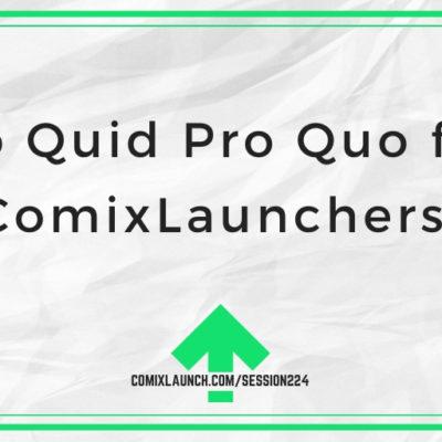 No Quid Pro Quo for ComixLaunchers